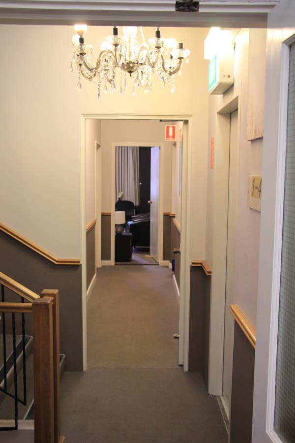 Hotel St Leonards corridor