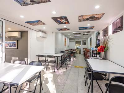 Cafe at Hotel St Leonards