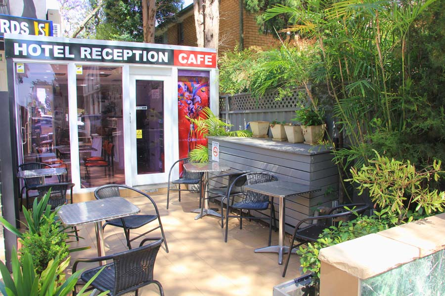 Outdoor Cafe Area