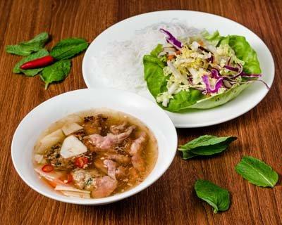 Saigon Cellars Bun Cha With Grilled Pork